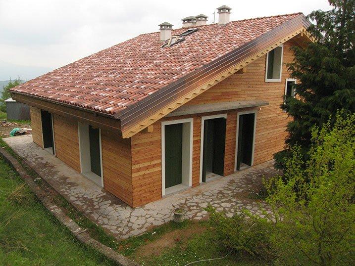 Unifamiliare forl ecosisthema casa prefabbricata in legno for Casa prefabbricata prezzi 2016