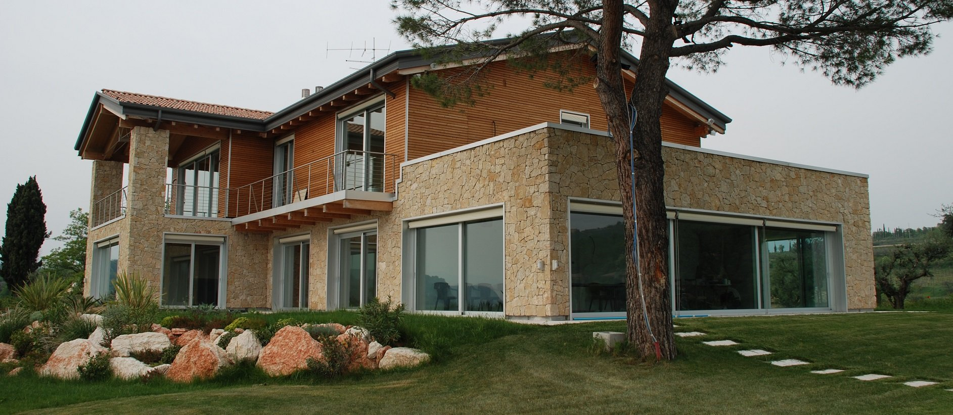 Ecosisthema case in legno case passive case prefabbricate - Prezzo costruzione casa ...
