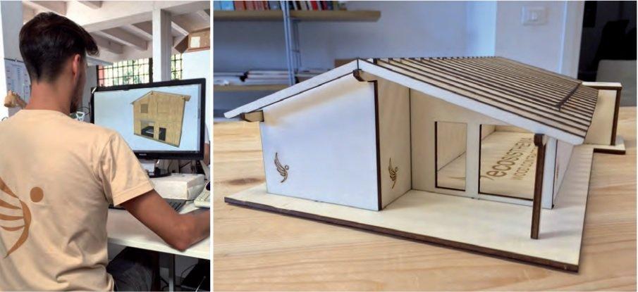 Costruire la casa in legno migliore del mondo ecosisthema - Costruire la casa ...