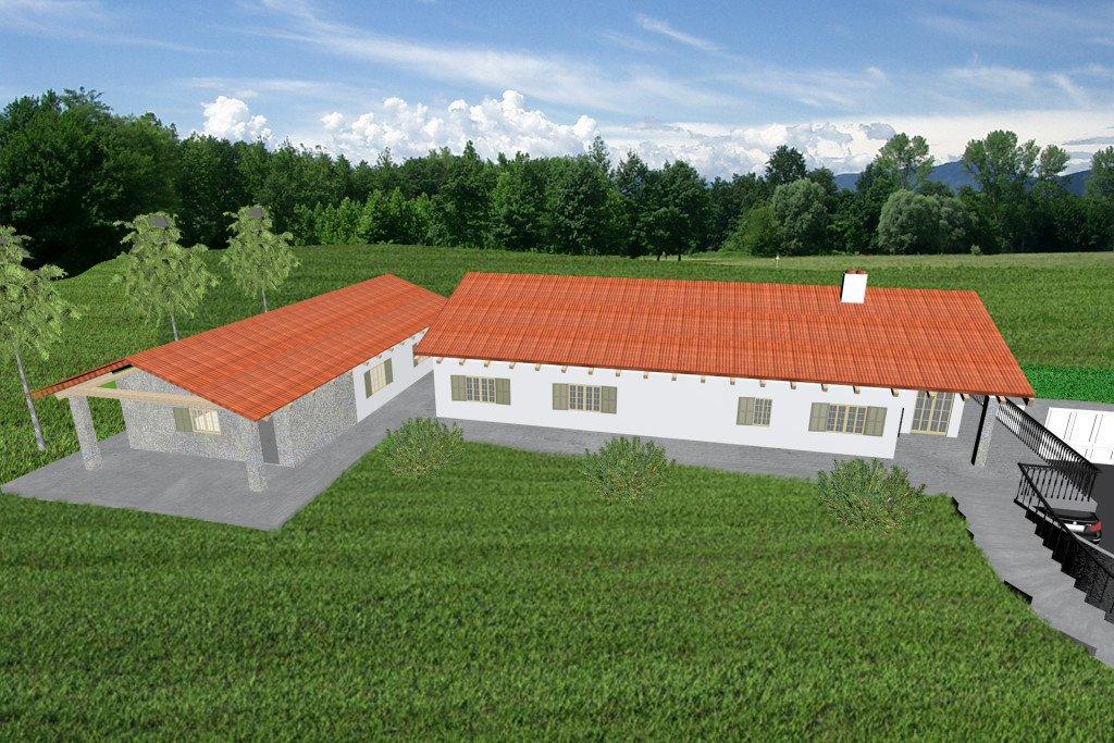 Casa in legno xlam verona 2 ecosisthema for Case in legno xlam
